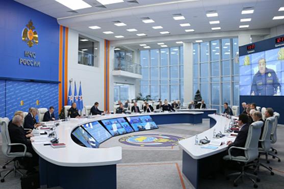 Заседание Экспертного совета МЧС России